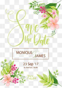 Vector Material Wedding Invitation Invitation Card Small Fresh Spring Flower Decora Wedding Invitation Card Design Wedding Card Design Wedding Invitation Cards