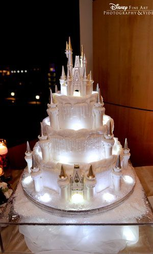 Add this dreamy Fairy Tale Dreams Castle Wedding Cake Topper worthy of any Princess Bride to your Disney Cinderella-like wedding, or for any bride who's found the magic of true love. Written on the bo Princess Wedding Cakes, Castle Wedding Cake, Castle Cakes, Disney Princess Cakes, Disney Castle Cake, Castle Weddings, Aladdin Princess, Themed Weddings, Princess Aurora