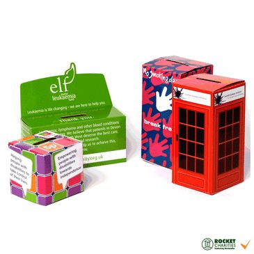 Charity Collection//Display Boxes Plain White
