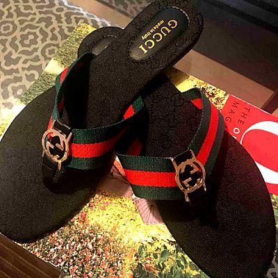 Gucci flip flops bhad gucci flip flops