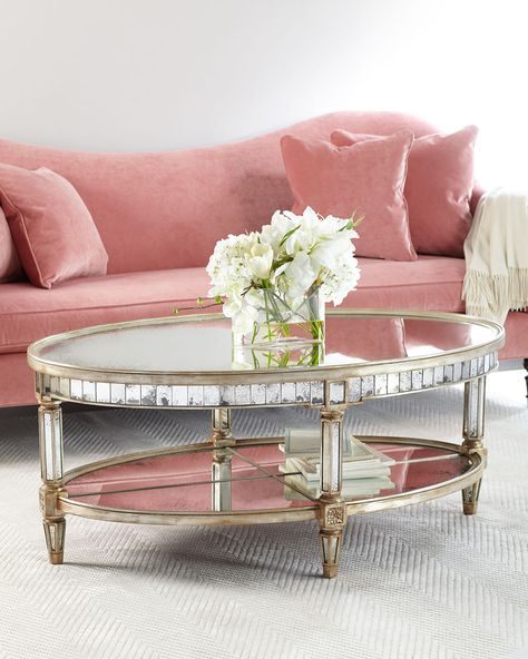 Amelie Mirrored Coffee Table | Mirrored coffee tables, Amelie and Coffee