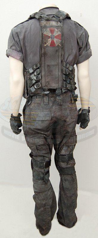 Resident Evil Apocalypse Carlos Olivera Uniform Screenused