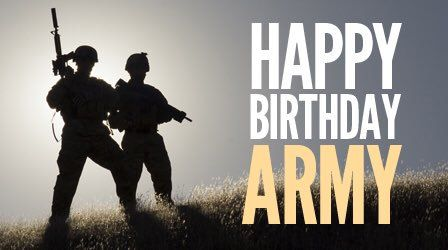 ArmyBDay hashtag on Twitter (With images) | Us army birthday ...