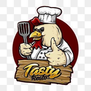 Vector Of Chicken Chef Character Suitable For Restaurant Logo Food Design Or Merchandise Chef Hat Red Mascot Png Transparent Clipart Image And Psd File For F In 2021 Logo Restaurant Shop