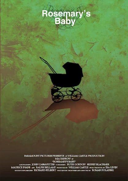 "ROSEMARYS BABY Movie Poster 11/""x17/"" Horror Satanic Cult Exorcist Polish"