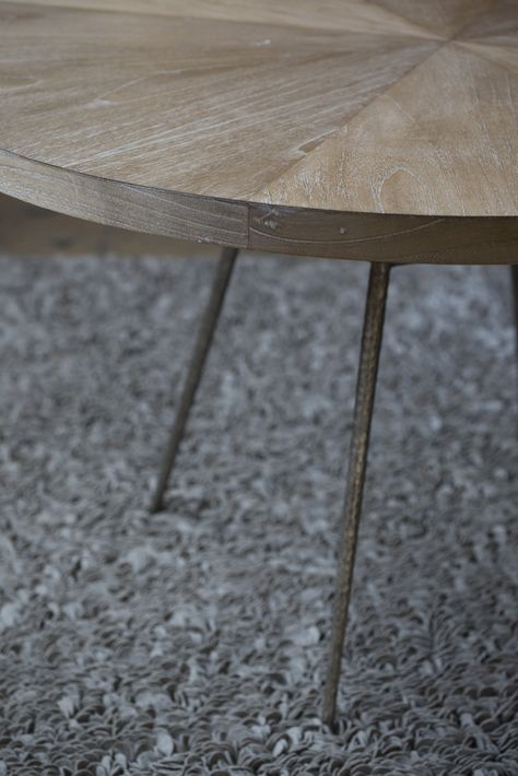 Wood table from HD Buttercup. #HDButtercupxgoop