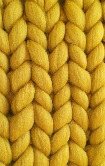 Rough Yarn Chunky knit blanket SUPER Quality merino wool Chunky blanket PLAIDA Knitted blanket Giant yarn blanket