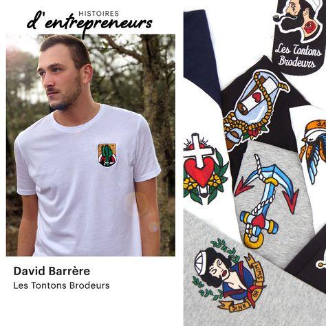 Les Tontons Brodeurs : une marque éthique et locale pour les amoureux du tatouage old school.