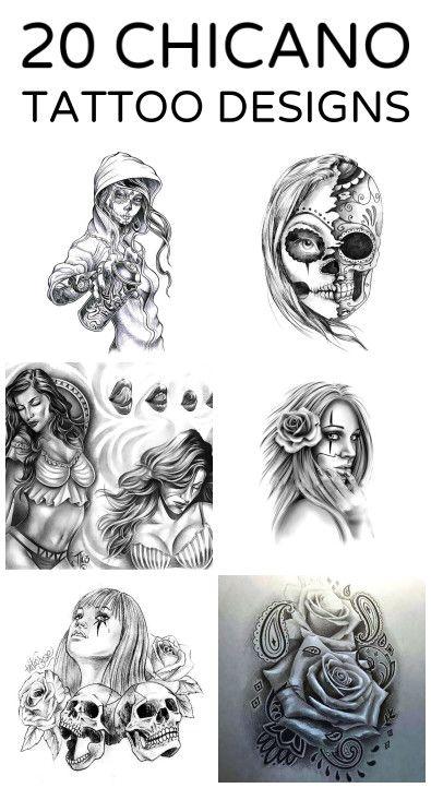 21 Creative Chicano Tattoo Ideas Tattoos Tattoodesigns Chicano Art Tattoos Tattoo Art Drawings Chicano