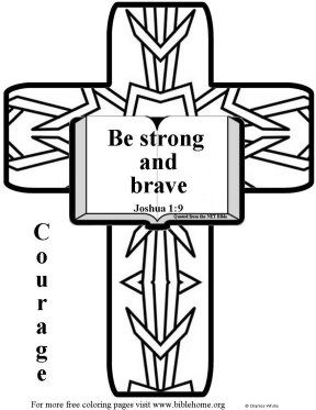 Image Result For Coloring Page Of Joshua 1 9 Bible Coloring