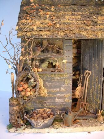 how to: autumn garden shed project