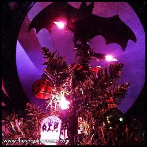 My Halloween Christmas Tree #Creepmas