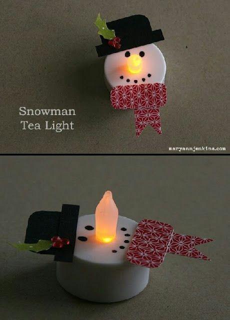 Crea originales adornos con velas LED