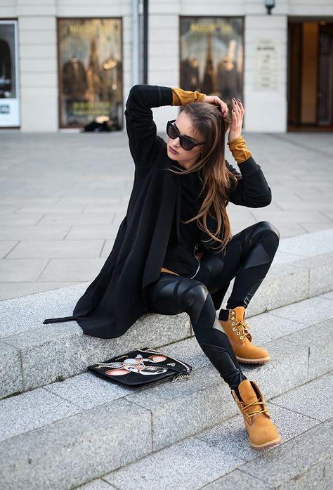 Agarrar Escudriñar anchura  100+ ideas de Outfits con botas estilo Timberland   outfits, botas  timberland mujer, ropa de moda