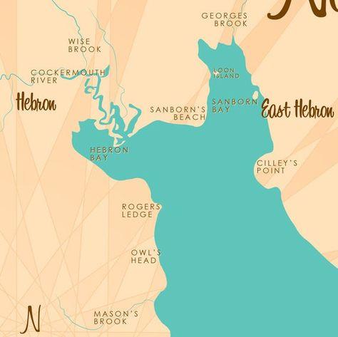 newfound lake nh map Newfound Lake Nh Map Art Barrel End Map Art Map Island Map newfound lake nh map