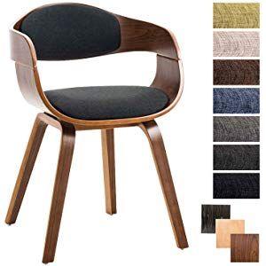 Folk Retr/ò Style DSW Eiffel Sedia da ufficio in pelle sintetica Nero gambe in legno finitura noce