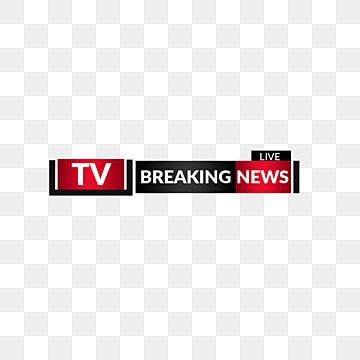 Lower Third Tv Titles Breaking News Bar Broadcast Graphic Interfaces Title Png Transparent Clipart Image And Psd File For Free Download Breaking News Tv Broadcast