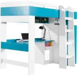 Funktionsbett Kinderbett Hochbett Mit Bettkasten Und Schreibtisch Geel 20 We Funktionsbett K In 2020 Modern Apartment Design Apartment Design Ikea Apartments