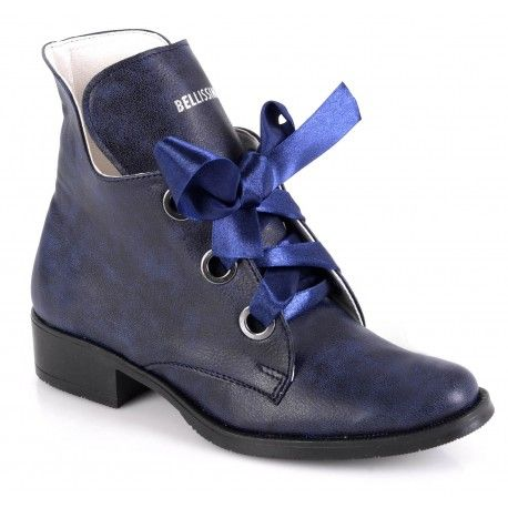 Polskie Trzewiki Botki Z Szarfa Gleboki Granat Wiosna Lato 2018 Calzado Sklep Buty Damskie Warszawa Dress Shoes Men Dress Shoes Oxford Shoes