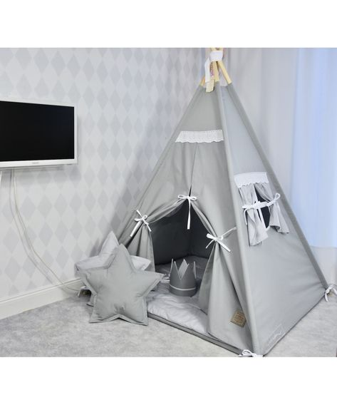 Namiot Tipi Dla Dzieci Teepee Piekny Vintage Gruba Mata Teepee Decor Home Decor