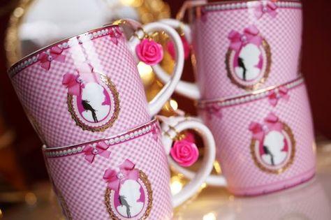 Little Diva Servies.Little Diva Servies Tea Time