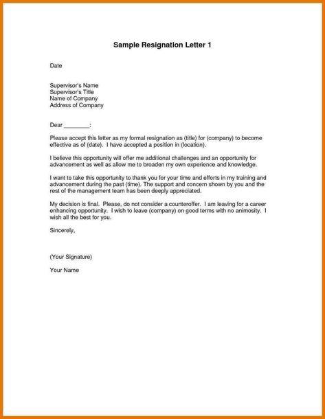 Nestle Cover Letter | Lettering, Resignation letter, Company ...
