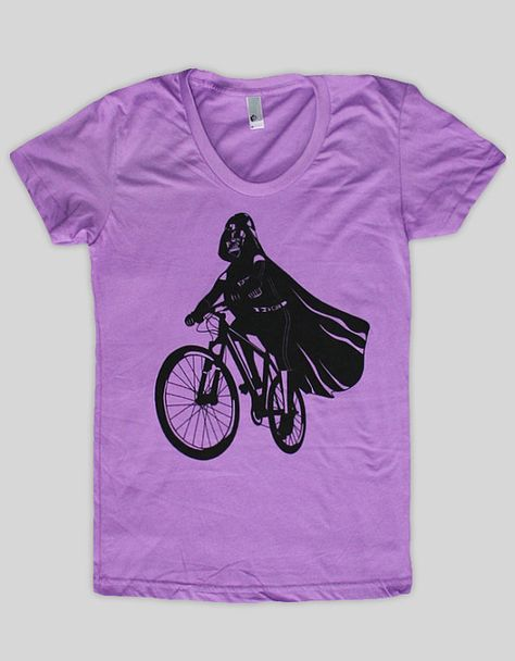 Darth Vader is Riding It  American Apparel Womens t by ironspider, $23.00