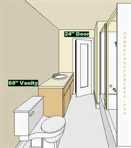 4 X 8 Bathroom Layout
