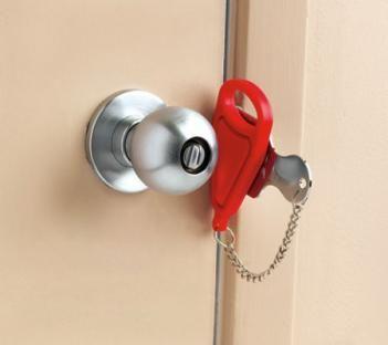 21++ Temporary lock for bedroom door info
