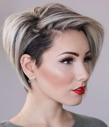 50 Latest Short Haircuts for 2019 - Get Your Hairstyle Inspiration for Summer, Latest Short Haircuts for 2019 In the coming year, fashion will pleasantly surprise the owners of short hair and those who dare to shorten their curls..., Short Haircuts