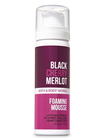 Black Cherry Merlot Foaming Hand Sanitizer Bath And Body Works