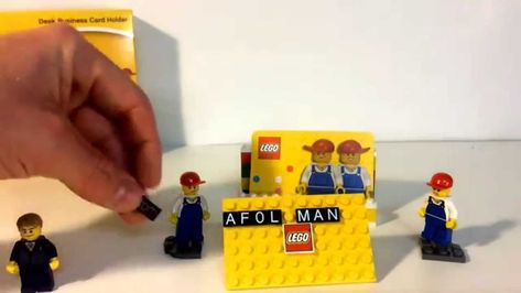 Lego Visitenkartenhalter Ebay Sowie Lego Visitenkarten Etui