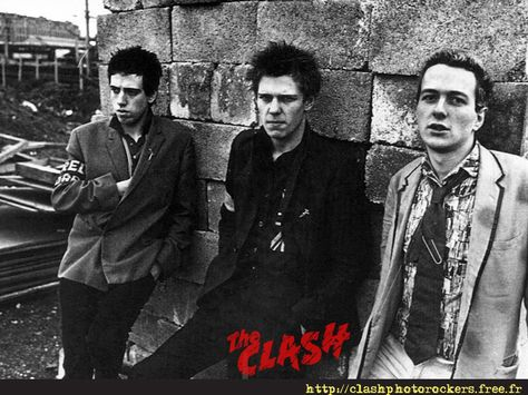 Music Wallpaper : The Clash
