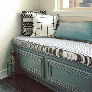 Custom Bench Cushion Better Than Store Bought Items Because You