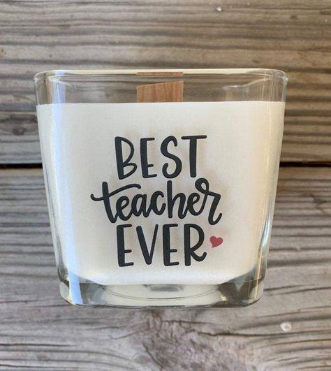 Best Teacher Gifts For Teacher Gift Best Teacher Ever Teacher Gifts For Teachers Teacher Appreciation Gift Custom Teacher Gift - Add Message On Back / Christmas In A Jar