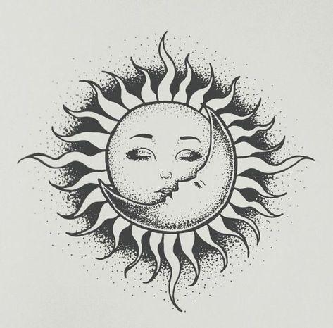 sun and moon    sun and moon sun and moon   #desenhosdetatuagens #fotosdetatuagens #ideiasdetatuagens #Moon #sun