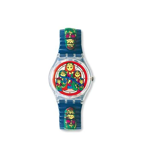 Swiss made, the Swatch watch SPACE DOG features a quartz movement, a plastic folio strap and a plastic watch head. Discover more Originals Gent on the Swatch United States website.