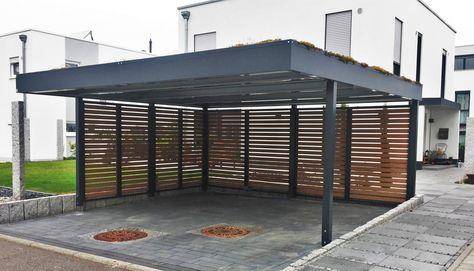 Carport Als Einzelcarport Doppelcarport Reihencarport Doppelcarport Carport Architektur