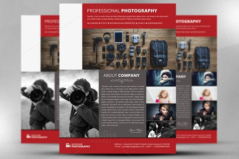 Photography flyer Template Photography marketing flyer Instant - photography flyer