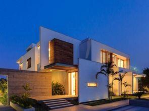Casas modernas modern homes on pinterest architects for Arquitectura de casas modernas