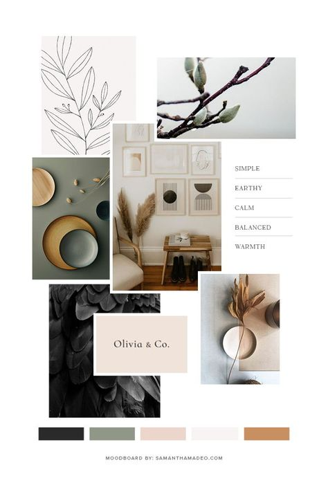 Color and brand inspiration for acupuncture clinic Raven & Wren Wellness Pantone Cards, Menue Design, Web Design, Logo Design, Brand Design, Brand Identity Design, Use E Abuse, Graphic Design Inspiration, Brand Inspiration