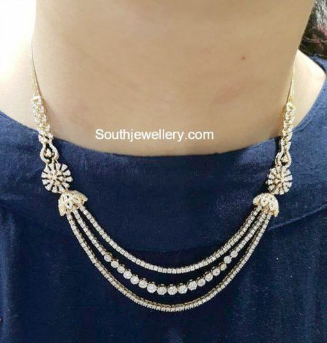 New jewerly necklace simple diamond bijoux Ideas