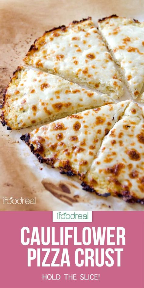 Cauliflower Pizza Crust the answer to pizza without the