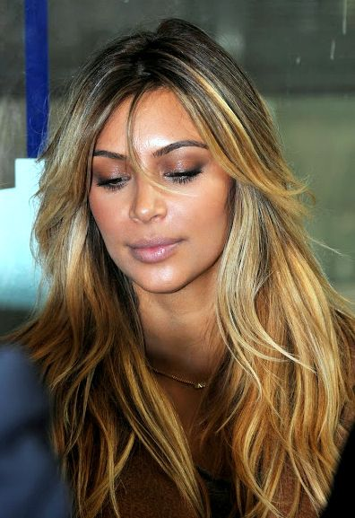 Pinterest Deborahpraha Kim Kardashian 2014 Blonde Hair Color