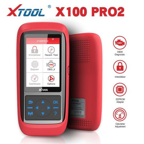 Xtool X100 Pro2 Auto Key Programmer With Eeprom Adapter Support In 2020 Key Programmer Programmer Car Keys