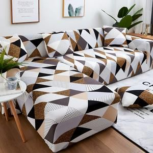 Magic Sofa Stretchable Cover L Shape Pattern Slipcovernation Slipcovernation In 2020 Corner Sofa Covers Sectional Couch Cover Couch Covers