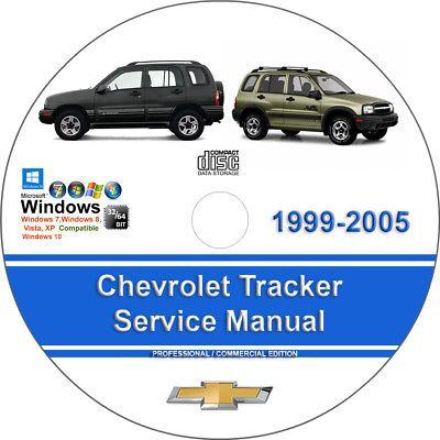 Advertisement Ebay Chevrolet Tracker 1999 2000 2001 2002 2003
