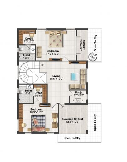 3 Bedroom House Plans With Pooja Room Stunning Welcome Msr Hill Valley 3 Bedroom House Plans With Pooja House Plans Bedroom House Plans Carriage House Plans