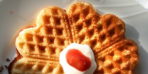 the waffles with the secret ingredients