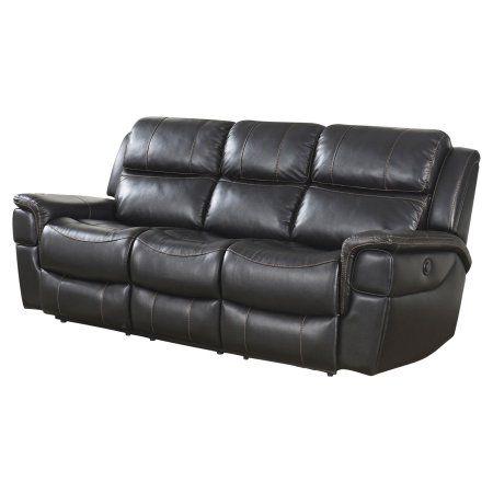 Abbyson Tallia Power Reclining Sofa Recliningsofa Leather Reclining Sofa Reclining Sofa Power Reclining Sofa